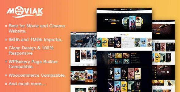 AmyMovie - Movie and Cinema WordPress Theme v3.4.0