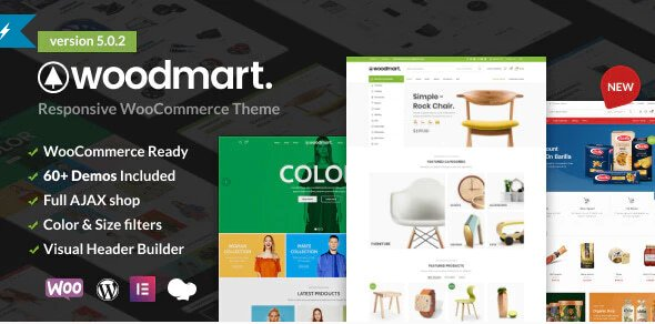 WoodMart - Responsive WooCommerce WordPress Theme v5.0.2