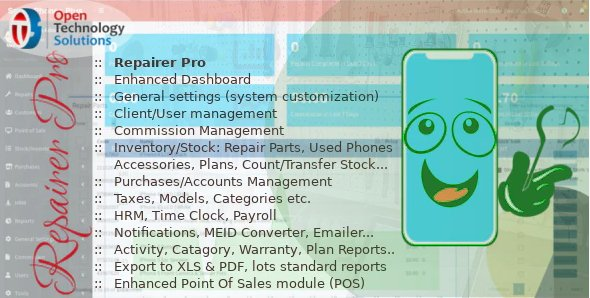Repairer Pro - Repairs, HRM, CRM & much more v1.2.0