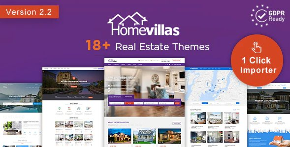 Home Villas Real Estate WordPress Theme v2.2 Nulled