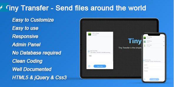 TinyTransfer - Send files around the world v1.0