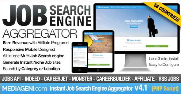 Instant Job Search Engine Aggregator v4.1