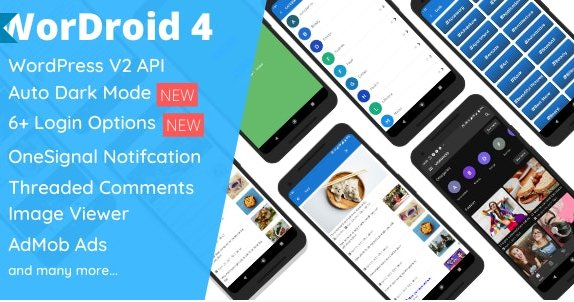 WorDroid - Full Native WordPress Blog App  v4.3
