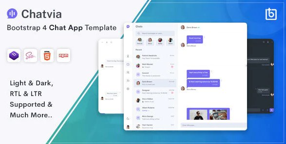 Chatvia - HTML5 Chat Template