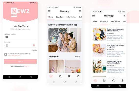 Newz - Flutter News & Blog App For Wordpress v1.0