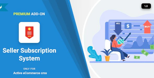 Active eCommerce Seller Subscription Add-on v1.3 Nulled