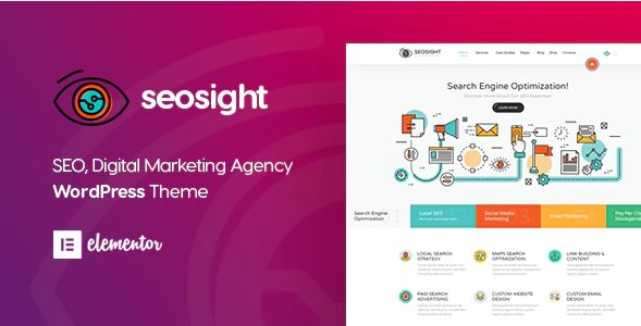 Seosight - Digital Marketing Agency WordPress Theme v4.6