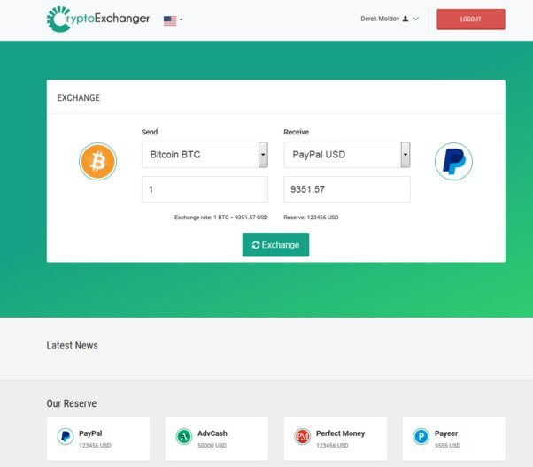 CryptoExchanger - Advanced E-Currency Exchanger and Converter v4.1