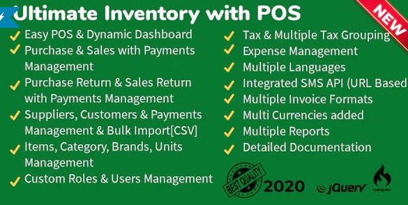 Ultimate Inventory with POS v1.7.5 Nulled