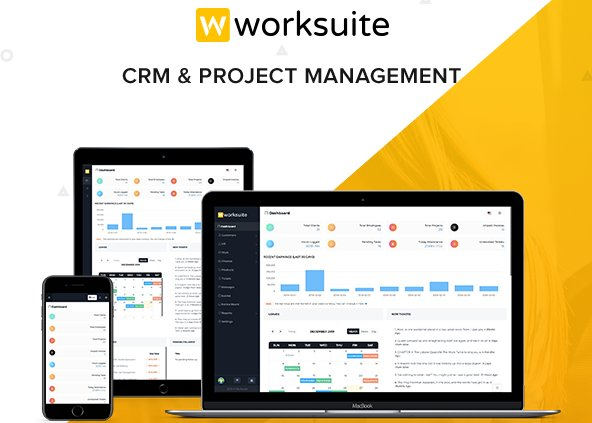 WORKSUITE - HR, CRM and Project Management v4.0.1 Nulled