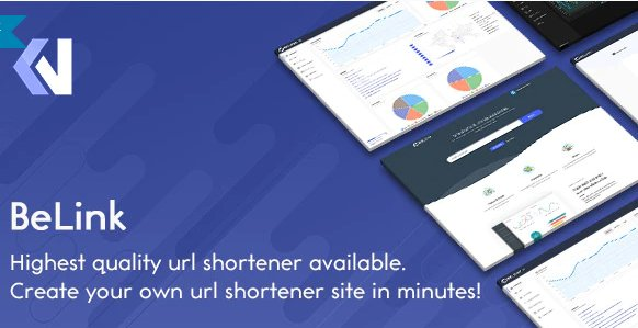 BeLink - Ultimate URL Shortener v1.0.5 Nulled