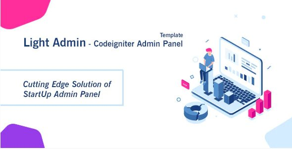 CI StartUp Admin Panel Template + Login Auth v1.0