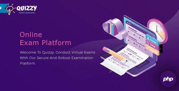 Quizzy: Online Examination Platform v2.3.0