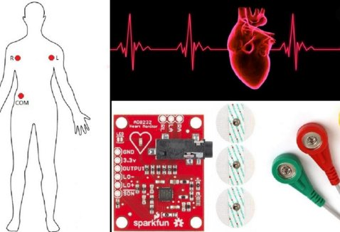 AD8232 heart rate monitor arduino