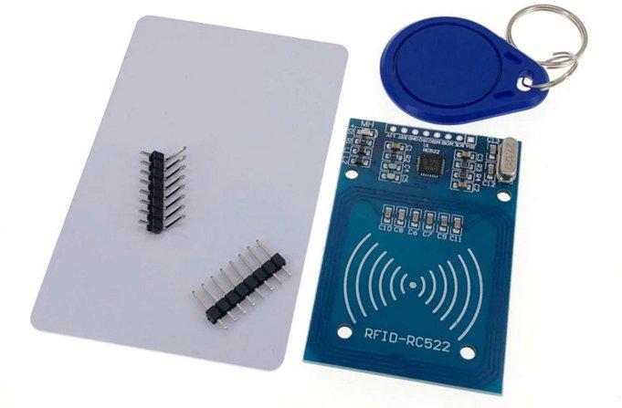 RFID-module RC522: description, connection, diagram, characteristics