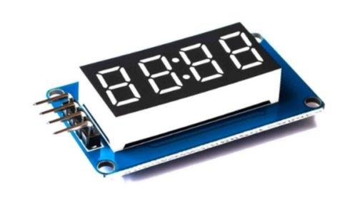 TM1637 4 digit 7-segment display Arduino module
