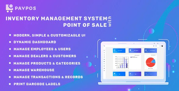 Pay POS - Sales and Inventory Management System v1.0
