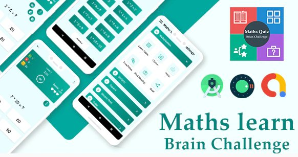 Ultimate Maths Quiz : Brain Challenge with admob ready to publish v1.0