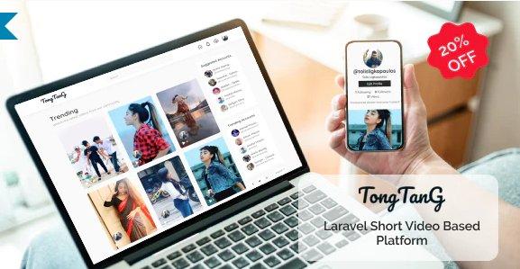 TongTang - Laravel Short Video Sharing Platform v1.1 Nulled