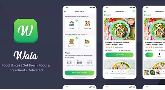 Wala - Food & Delivery React Native App Template v1.0