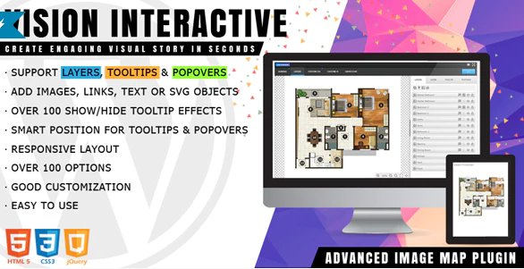 Vision Interactive - Image Map Builder for WordPress v1.4.0