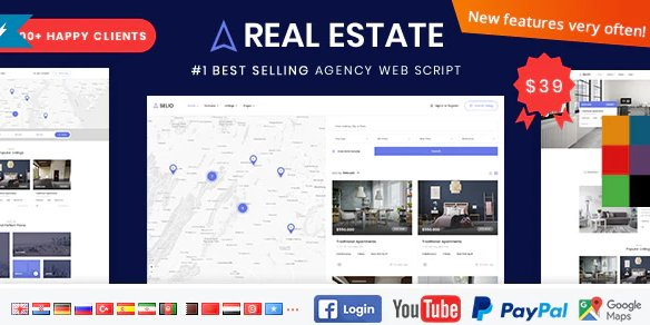 Real Estate Agency Portal 1.6.8 Nulled