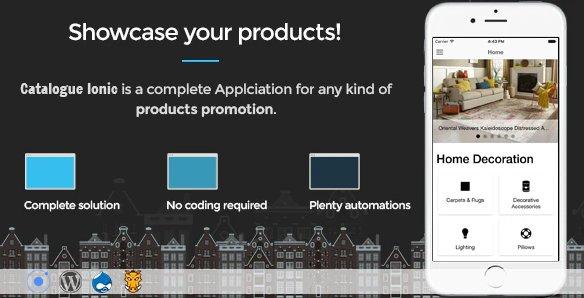 Catalogue Ionic - Full application v1.5