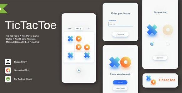Tic Tac Toe: Simple & Minimal Game v1.0.3