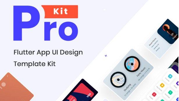 Prokit - Biggest Flutter UI Kit v10.0