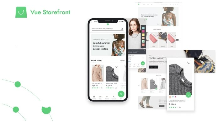 Vue Storefront - Headless PWA for any eCommerce