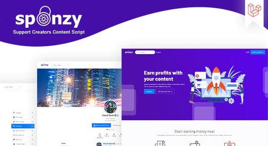 Sponzy - Support Creators Content Script v2.2