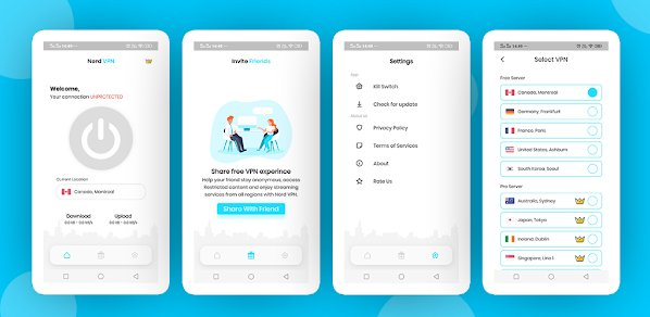 Nerd VPN : Flutter VPN Android Full Application with IAP, Integrated with Backend and Admin Panel v1.0
