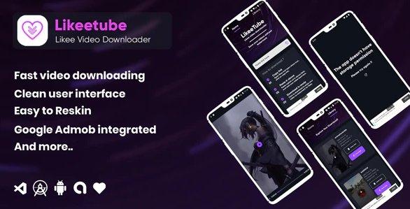 Likeetube Likee video downloader no watermark (android) v1.0.0