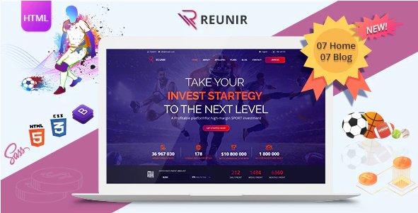 Reunir – Sports Investment Templates