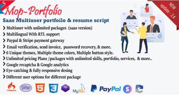 Mob - My Portfolio / CV / Resume / vCard v2.4 Nulled