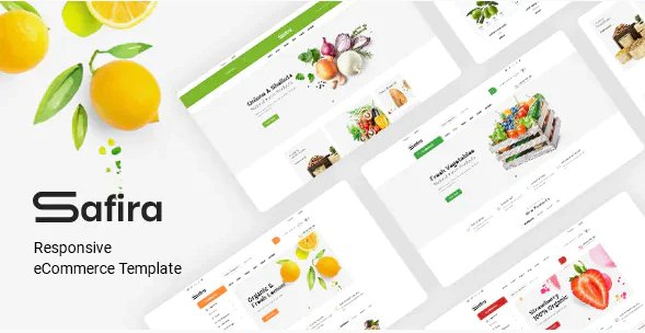 Safira - Organic food HTML Template
