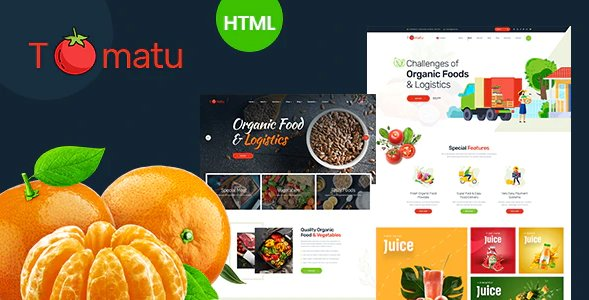 Tomatu - Organic Foods HTML5 Template