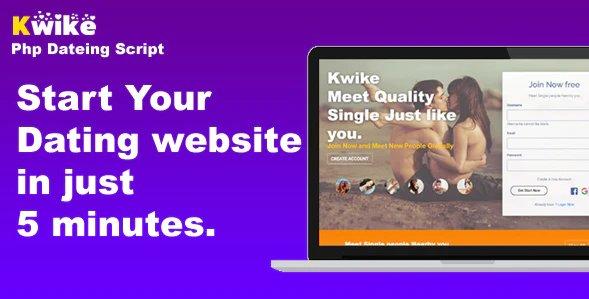 Kwike - Dating Website Php Script v1.4