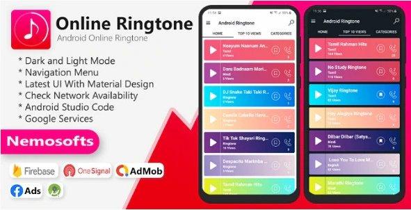 Android Online Ringtone v2.0.0