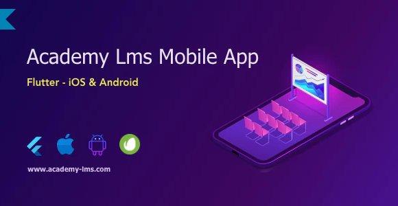 Academy Lms Mobile App - Flutter iOS & Android v1.0