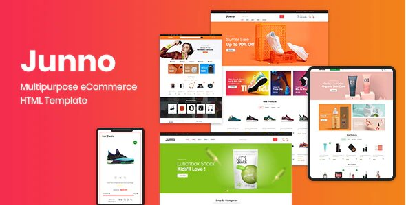 Junno – Multipurpose eCommerce HTML Template