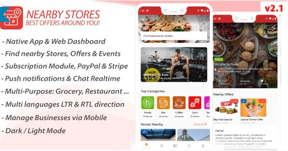 Nearby Stores Android v2.1 Nulled