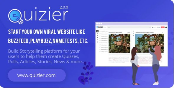 Quizier Multipurpose Viral Application v3.6.0 Nulled
