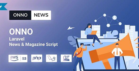 ONNO - Laravel News & Magazine Script v1.0.2 Nulled