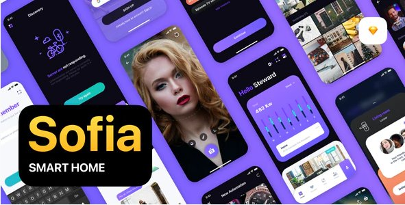 Sofia - Smart Home UI Kit
