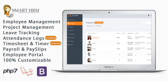 Smart HRM - HR Management with Project Management v1.6 Nulled