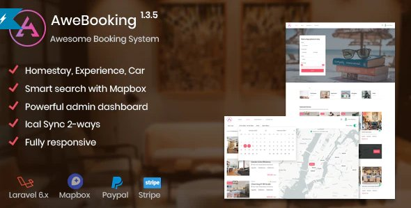 AweBooking - Awesome Booking System v1.3.5