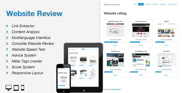 Website Review v 5.8