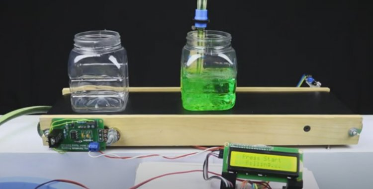 Automatic filling line Arduino