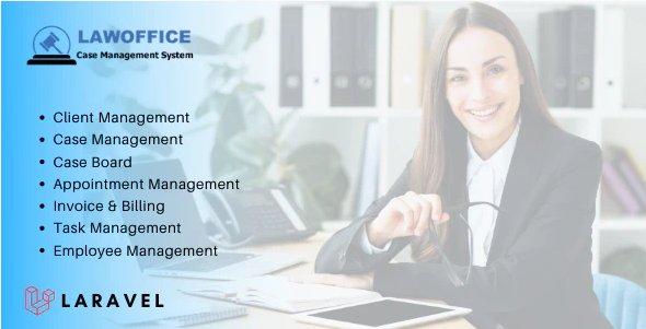LawOffice - Case Management System for Lawyer v1.0